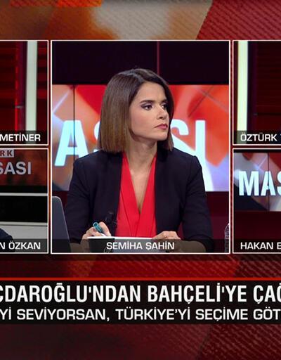 Kılıçdaroğlu'nun seçim çıkışına kim ne dedi? Tuncay Özkan'ın mektubu kime? Karabağ'da son ateşkes mi? CNN TÜRK Masası'nda tartışıldı