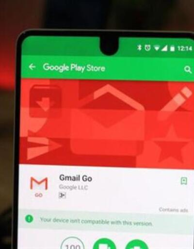 Gmail Go herkesin indirime sunuldu