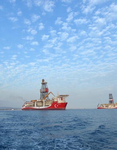 Son dakika haberi: Kanuni sondaj gemisinden Yavuz'a selam