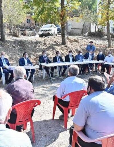 Yeşildere Köyü sakinleri, Vali Erdinç'e talep ve sorunlarını iletti