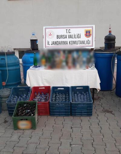 Bursa ve Aydın'da 'sahte içki' operasyonu