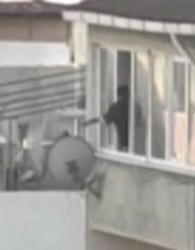 Komşularına sinirlendi ateş açtı   Video