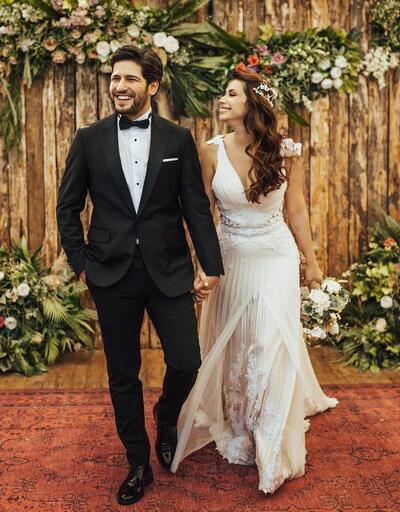 Begüm Birgören ve sevgilisi Mehmet Cemil evlendi