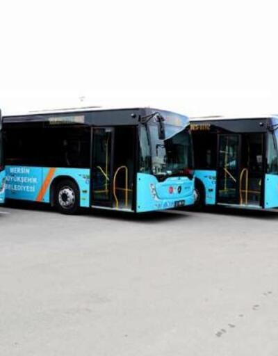 Mersin'e 73 yeni otobüs geliyor