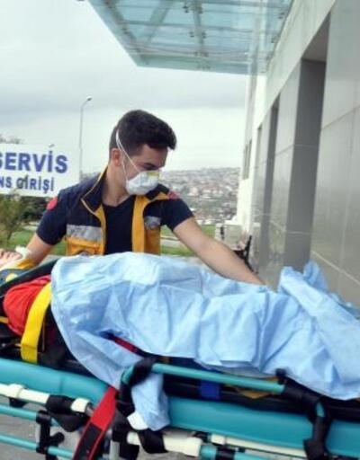 Malkara'da otomobille çarpışan motosiklet sürücüsü yaralandı