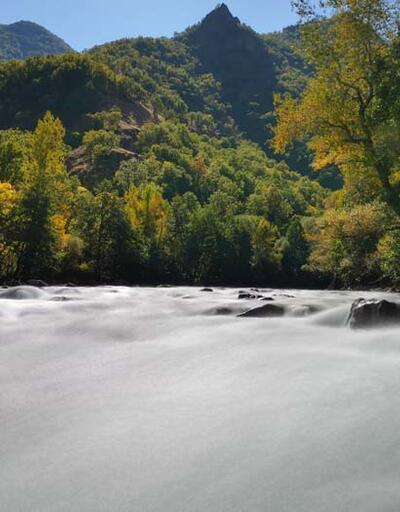 Amerika'da bulunan Colorado Nehri'ne benzetiliyor! Huzur veren vadi