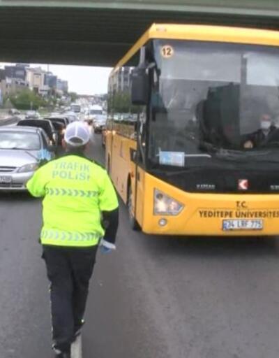 Toplu taşımada virüs denetimi | Video
