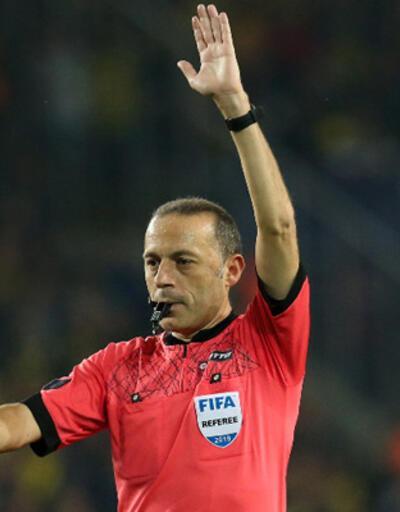 Son dakika... Fenerbahçe-Trabzonspor maçının hakemi Cüneyt Çakır