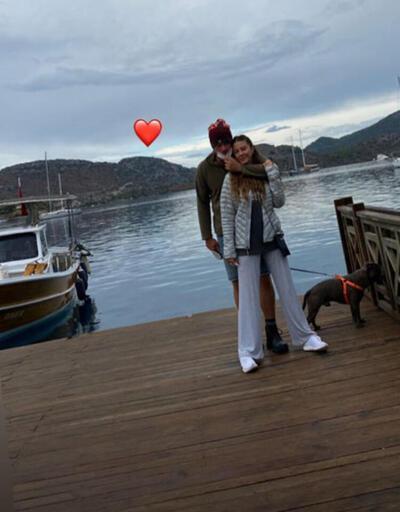 Kıvanç Tatlıtuğ ve Başak Dizer'in aşk tatili