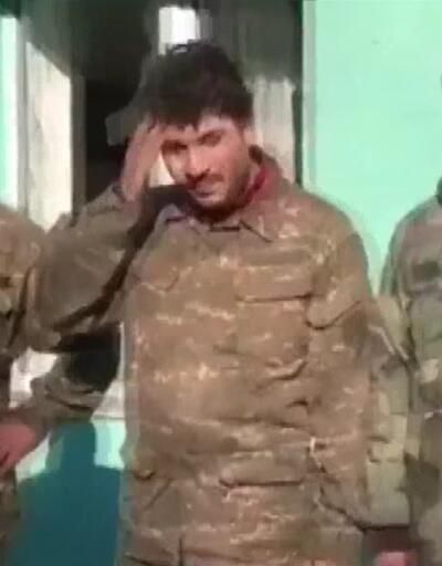 Azerbaycan ordusunun esir aldığı Ermeni askerlerin korkusu kamerada