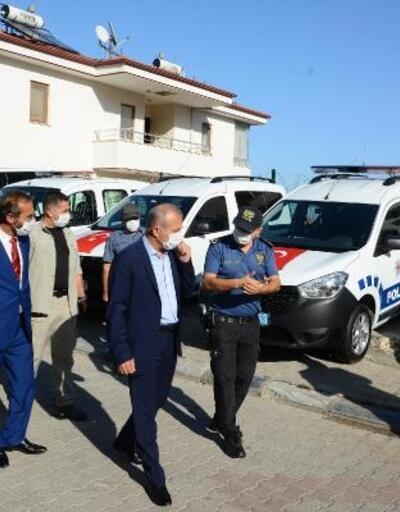 Datça İlçe Emniyet Müdürlüğü'nün araç filosu genişledi