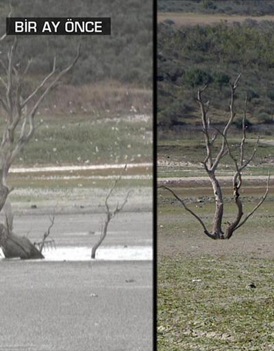 İstanbul'da baraj suları tükeniyor | Video