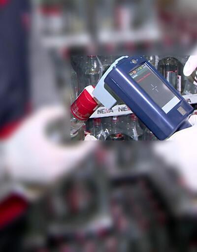 Son dakika! 1 ton sahte içki yakalandı | Video