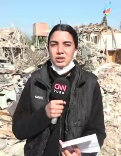 CNN TÜRK cephe hattında... Ermenistan yine füzeyle saldırdı | Video