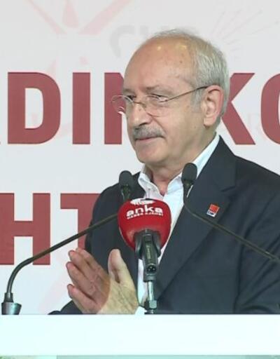 Kılıçdaroğlu kadın muhtarlar ile buluştu   Video
