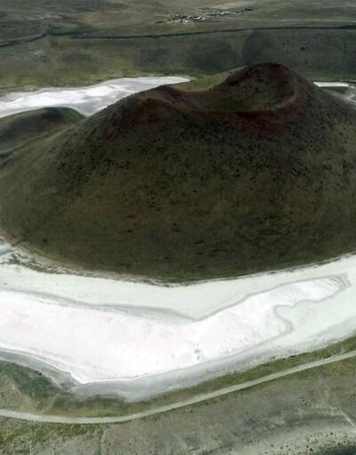Dünyanın nazar boncuğuydu! Meke Gölü neden kurudu? | Video