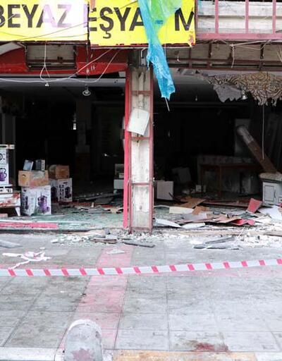 İskenderun'da patlamanın yaşandığı caddede bu sabah