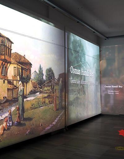 Osman Hamdi Bey eserleri dijital sergide | Video