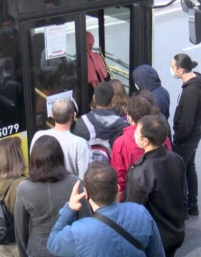 Vakaların %40'ı İstanbul'da... Toplu taşımadaki manzarada yine değişiklik yok | Video