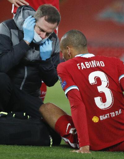 Liverpool'da van Dijk'ın ardından Fabinho da sakatlandı!