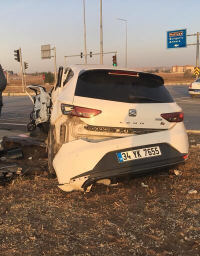 Çorum'da feci kaza! 1'i uzman çavuş, 2 kişi öldü