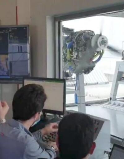 Bayraktar: TEI Milli tasarım yerli uçak motoru üretti   Video