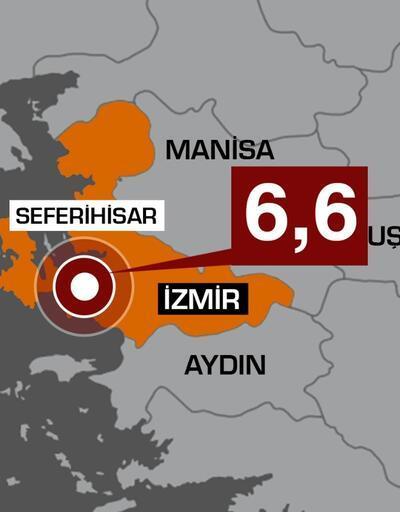 Son dakika... İzmir'de 6,6 büyüklüğünde deprem: AFAD acı haberi duyurdu | Video
