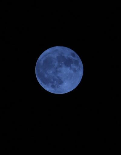 """""""Mavi Ay""""  görsel şölen oluşturdu"""