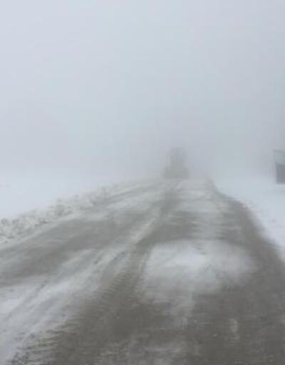 Uludağ'da kar yağışı etkisini gösteriyor