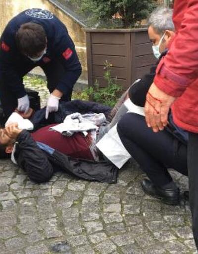 Adliye önünde kavga: 4 yaralı