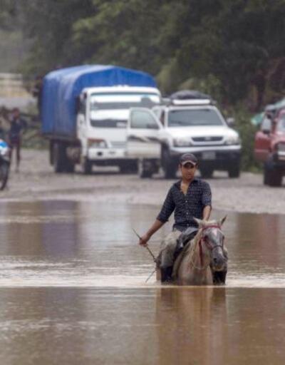 Eta Kasırgası Guatemala'yı vurdu: 50 ölü