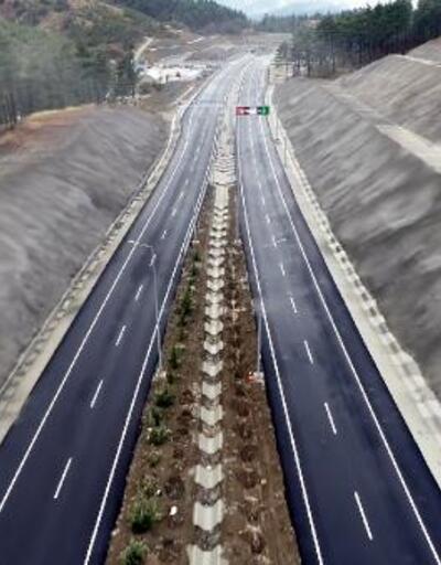 11 tünelli yolda ilk araç sürüşünü Cumhurbaşkanı Erdoğan yapacak