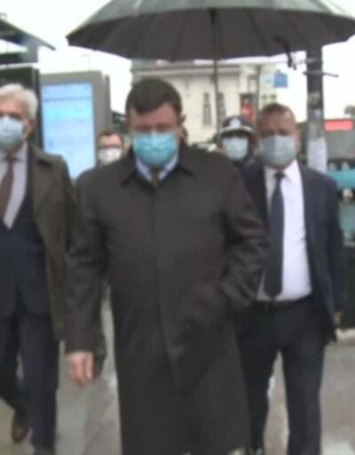 İstanbul'da koronavirüs denetimi... İl Emniyet Müdürü Zafer Aktaş da denetimlere katıldı | Video