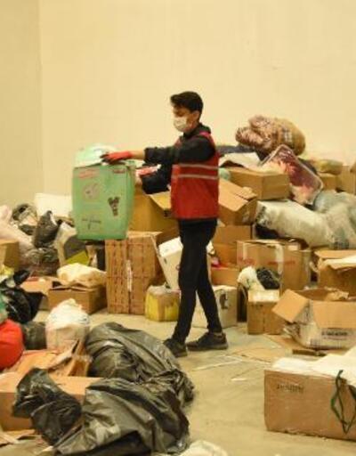 Türkiye'nin dört bir yanından İzmir'e yardım yağıyor