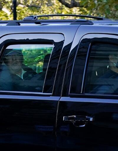 Biden'ın zaferinin ardından Trump ilk kez görüntülendi