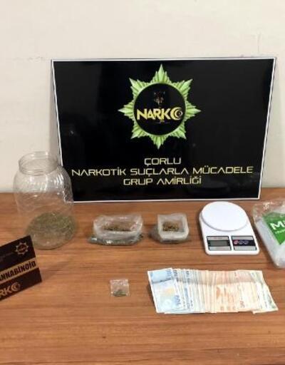 Çorlu'da uyuşturucu operasyonu