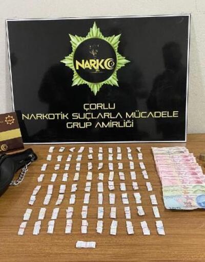 Çorlu'da uyuşturucu operasyonları