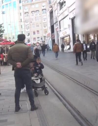İstiklal'de korkutan kalabalık | Video