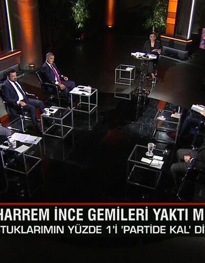 """İnce gemileri yaktı mı? Özdağ'ın """"HDP ile Anayasa"""" iddiasına kim ne dedi? Gece Görüşü'nde tartışıldı"""