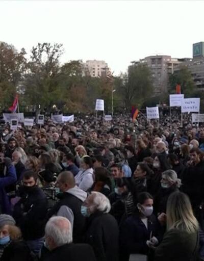 Son Dakika Haberleri: Paşinyan'a istifa çağrısı   Video