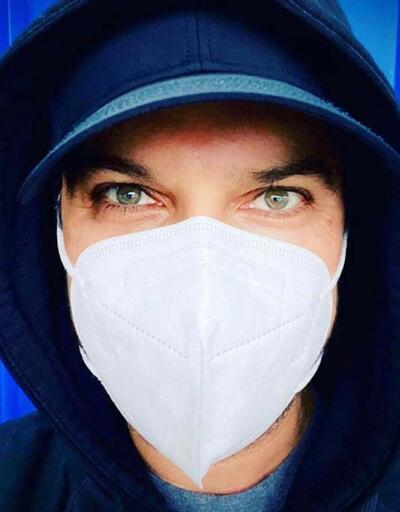 Tarkan'dan maske paylaşımı: Buhar adam oldum