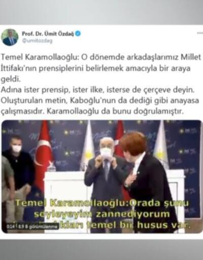Eski İYİ Parti yöneticisinden anayasa iddiası | Video