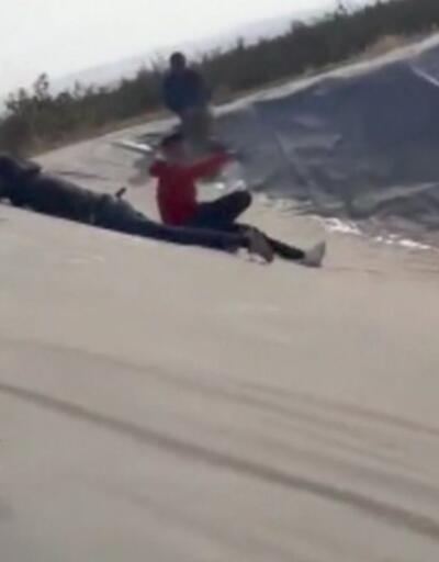 Havuza düşen genci kurtaran iki kişi boğuldu   Video