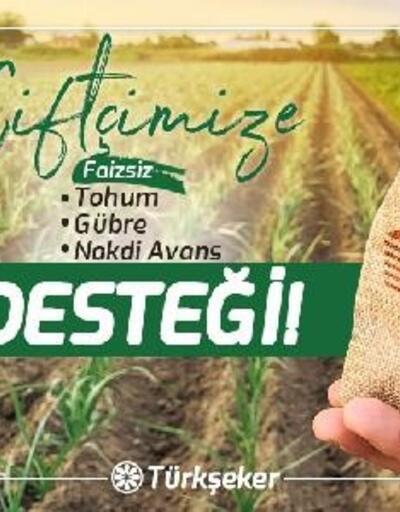 Türkşeker'den, sözleşme yapan çiftçiye tohum ve gübre desteği