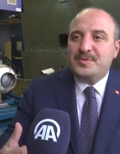 Sanayi Bakanı Varank Milli motoru test etti   Video