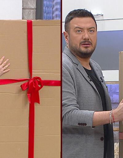 Stüdyodaki sürpriz kutuda ne var?