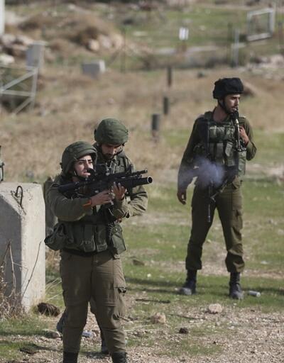 İsrailli askerlerden sert müdahale