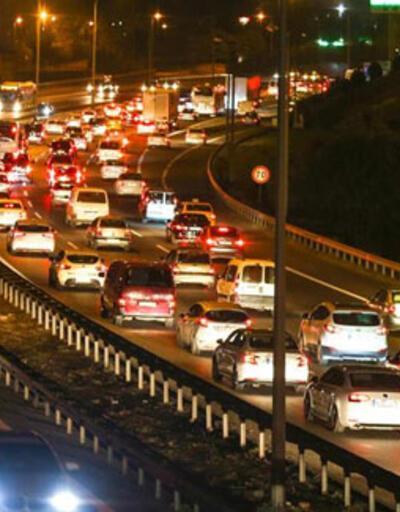 Son dakika haberi... İstanbul'da trafik yoğunluğu