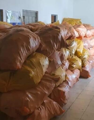 Kerkük'te yüklü miktarda uyuşturucu madde ele geçirildi