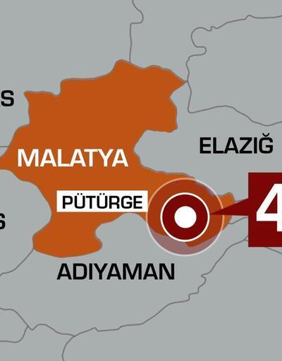 Son dakika... Malatya'da 4,7 büyüklüğünde deprem